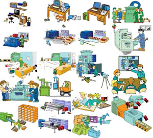Cartoons For 5s And Lean Manufacturing